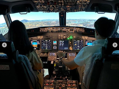 Advanced B 737 Fixed Base Simulator - Seoul, Korea