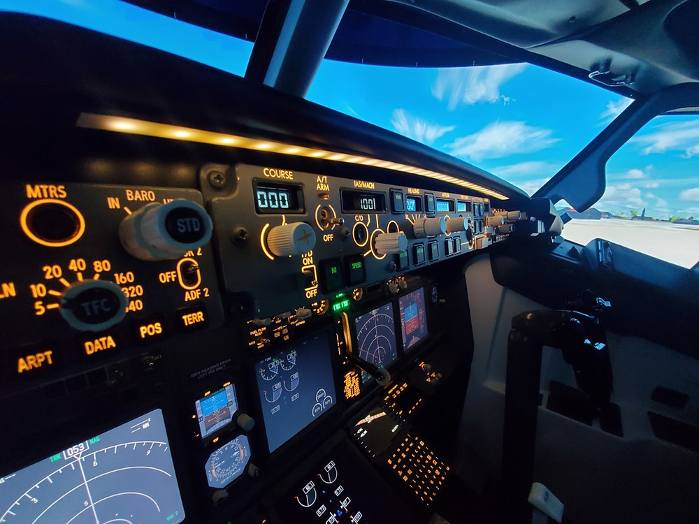 Turnkey B737 FTD Flight Simulator in Taipei.