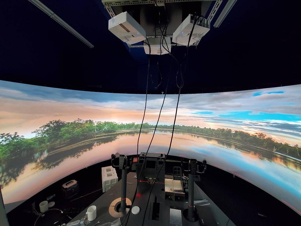Turnkey B737 FTD Flight Simulator.