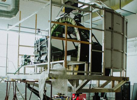 B737 motion flight simulator - Berlin, Germany