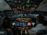 Fixed base B 737 flight simulator. Turnkey FTD for Boeing 737 pilots.