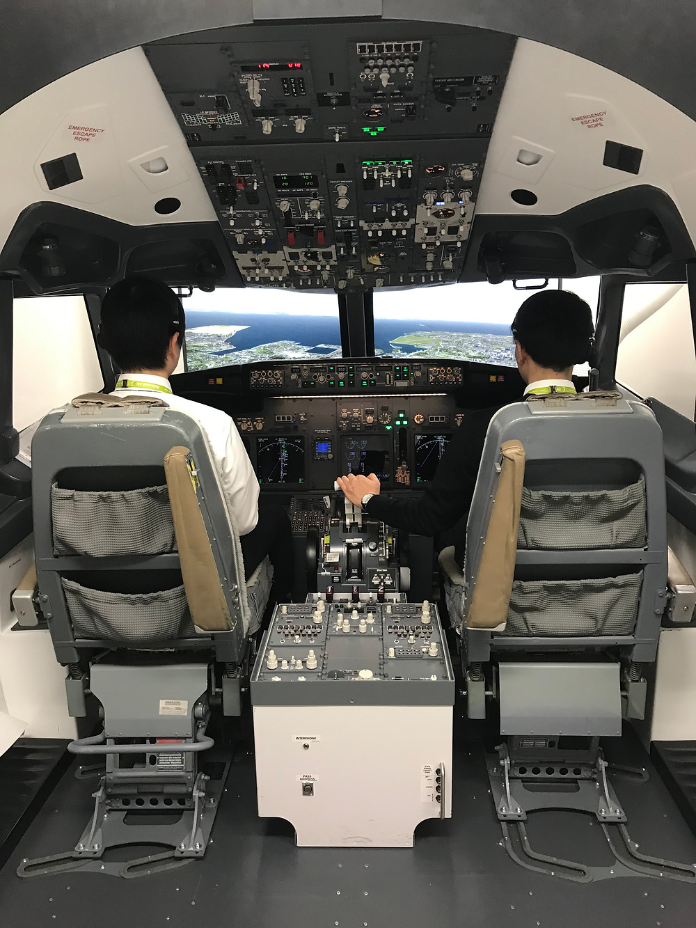 B737 FTD by simulator