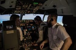 B 737 Flight Simulator