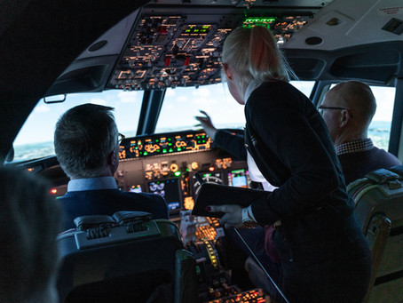 B737 Turnkey Flight Simulator - Uppsala, Sweden