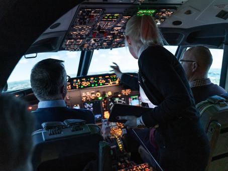 B737 Turnkey Flight Simulator - Uppsala, Sweden