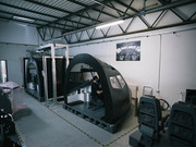 B737 flight simulator simworld facility.