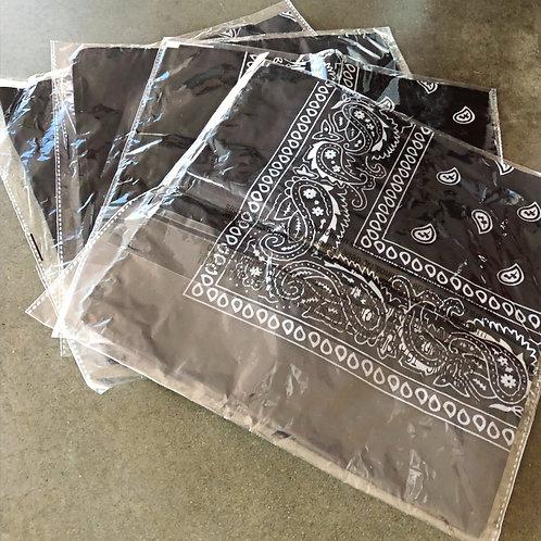 Brand new black bandanas