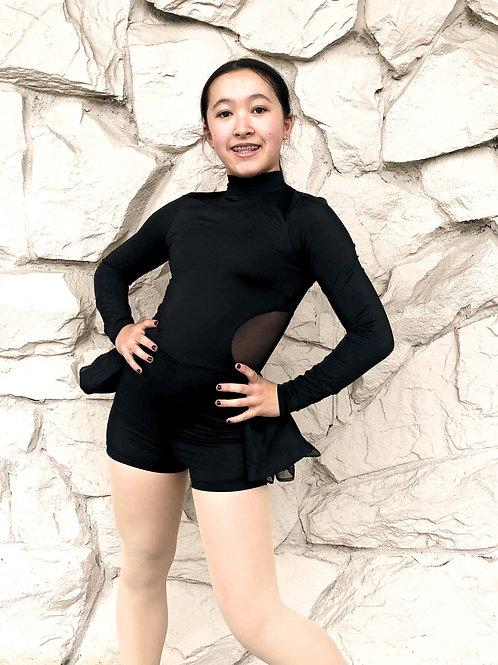 One piece shorts unitard
