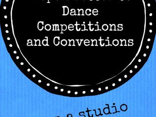 Open letter to Dance Competitions & Conventions PART ONE