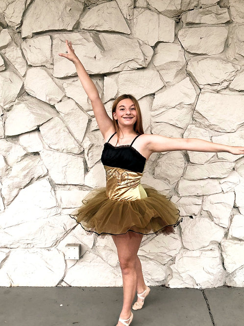 One piece ballet leo and tutu