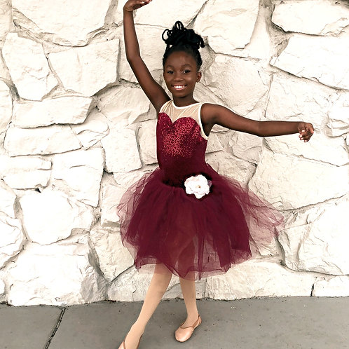 Large Child Size ballet dress