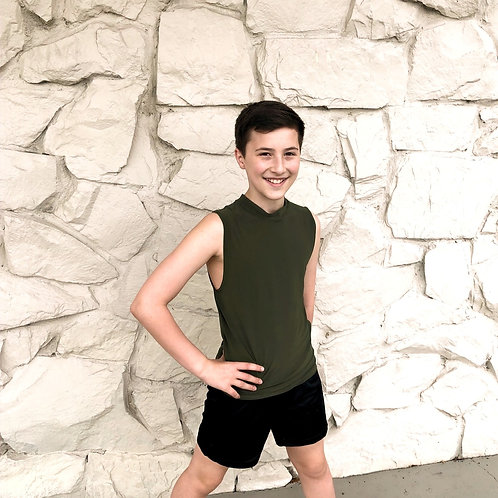 Boys sleeveless tank