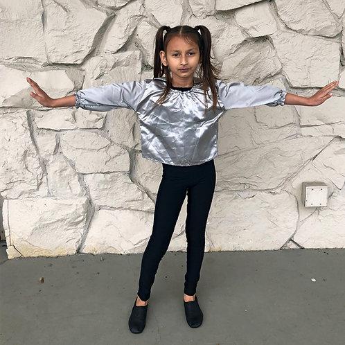 Small Child size silver shirt