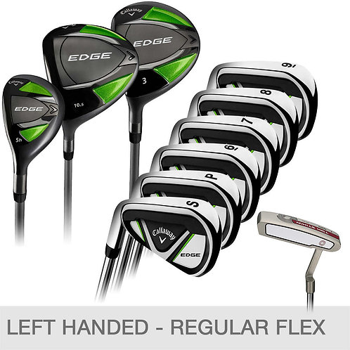 Callaway Edge 10-piece Golf Club Set, Left Handed