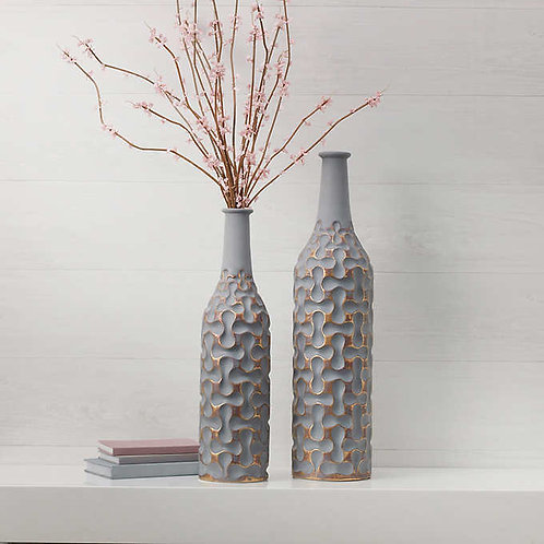2-piece Decorative Vase Set