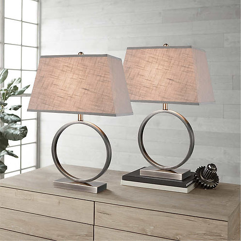 Halo Metal Table Lamp, 2-pack