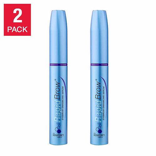 RapidBrow Eyebrow Enhancing Serum, 2-pack