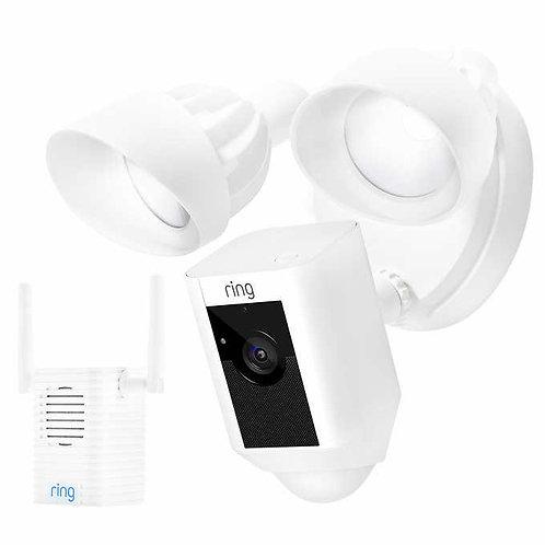 Ring Floodlight Camera with Bonus Chime Pro