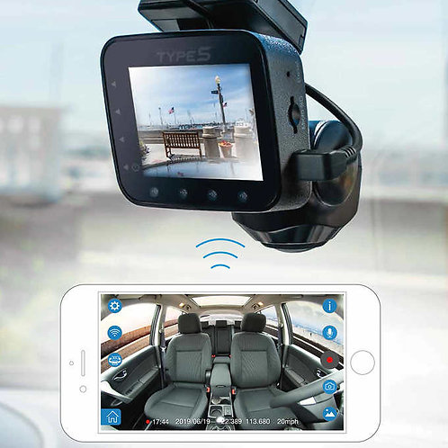 Type S 360 Degree Smart Dash Camera