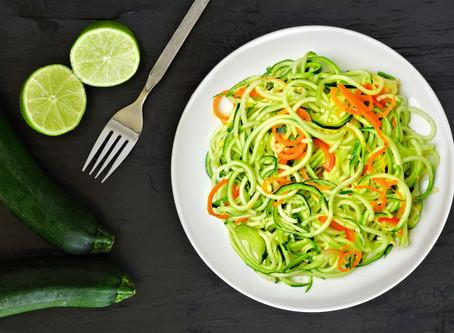 Gemüse-Zungenbrecher-Rezept -- Zucchini Zoodls