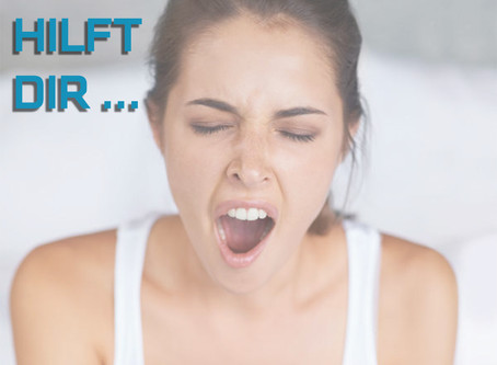 Gähnen ist gesund! 5 Dinge, bei denen Gähnen dir helfen kann