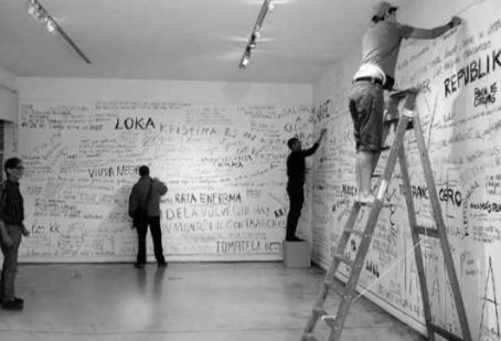 Arte y Archivo: lo crítico en el montAje expositivo Diarios del odio