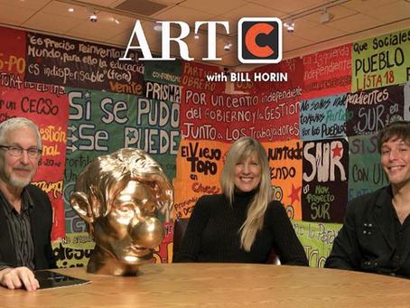 ArtC - November 2nd, 2017 - Sharon Kiefer and Syd Krochmalny
