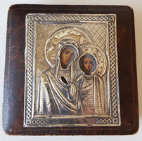 Imperial Russian Religious travelling Icon