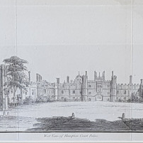 6099West View of Hampton Court Palace co