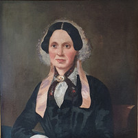Portrait of a Victorian Lady oil on canv