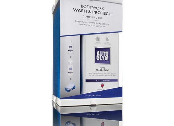 AUTOGLYM BODYWORK WASH & PROTECT COMPLETE KIT