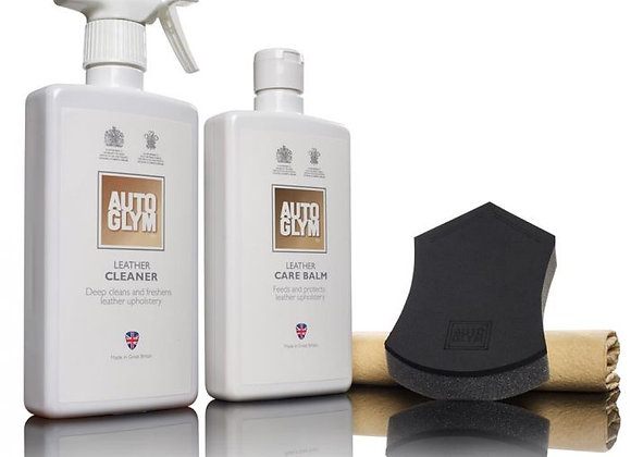 AUTOGLYM LEATHER CLEAN & PROTECT COMPLETE KIT