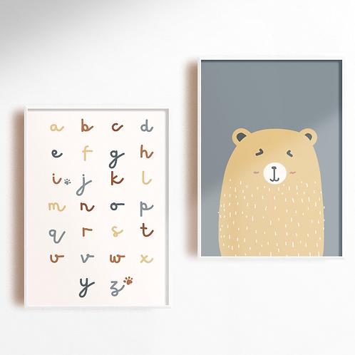 Gold Bear Pair