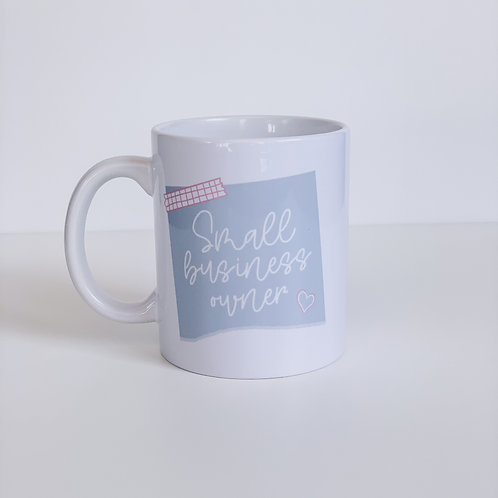 Small Business Owner Mug