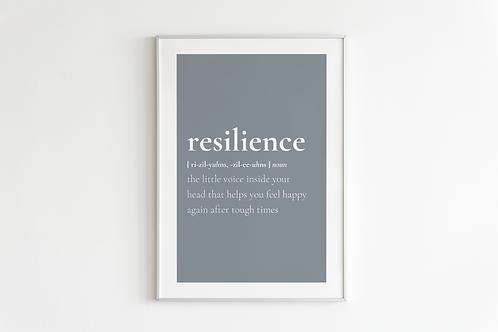 Resilience Print