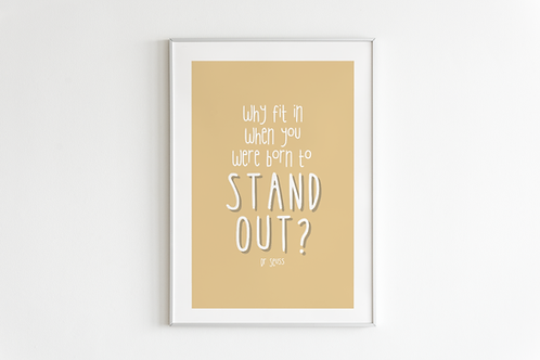 Stand Out Print