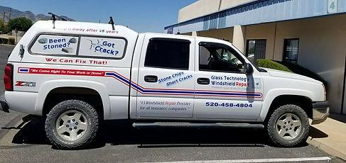 Glass Technology Windshield Repair Truck