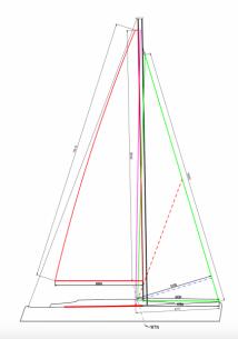 Doyle New sails