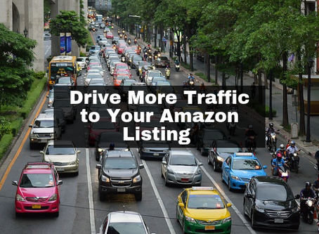 How Do I Drive More Traffic to My Amazon Listing?