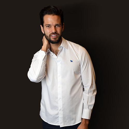 Camisa Blanca Lisa