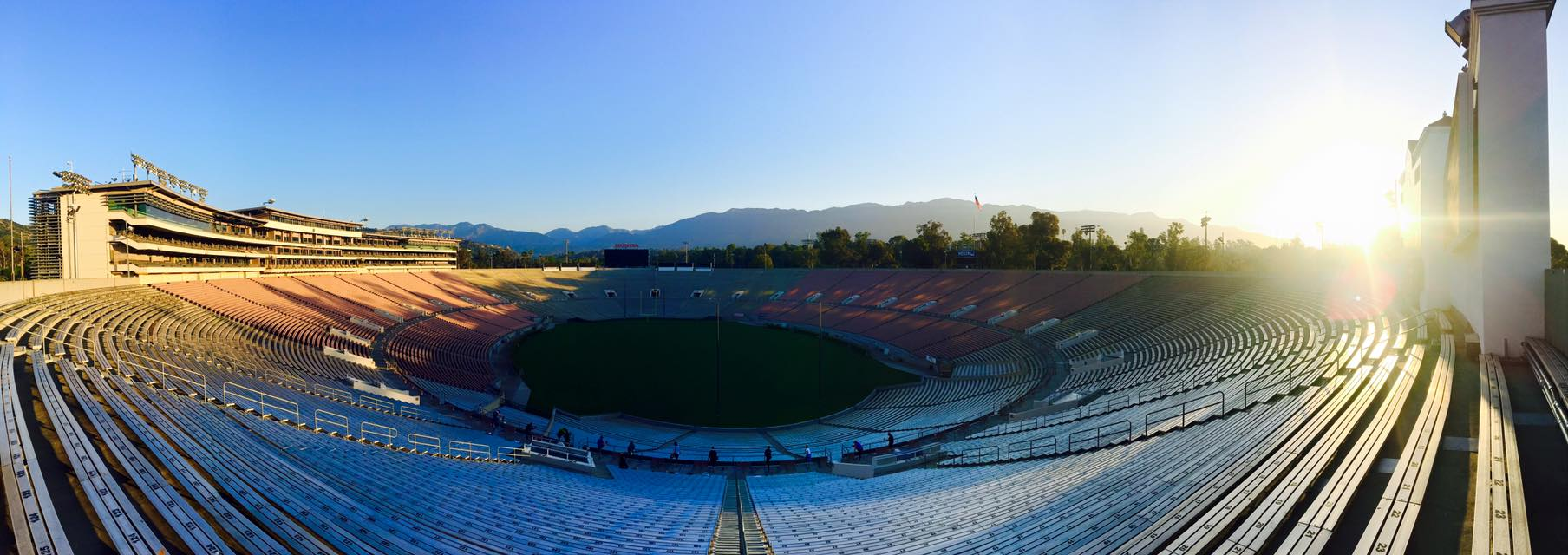 Rose Bowl view 2