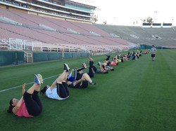 Core on the field