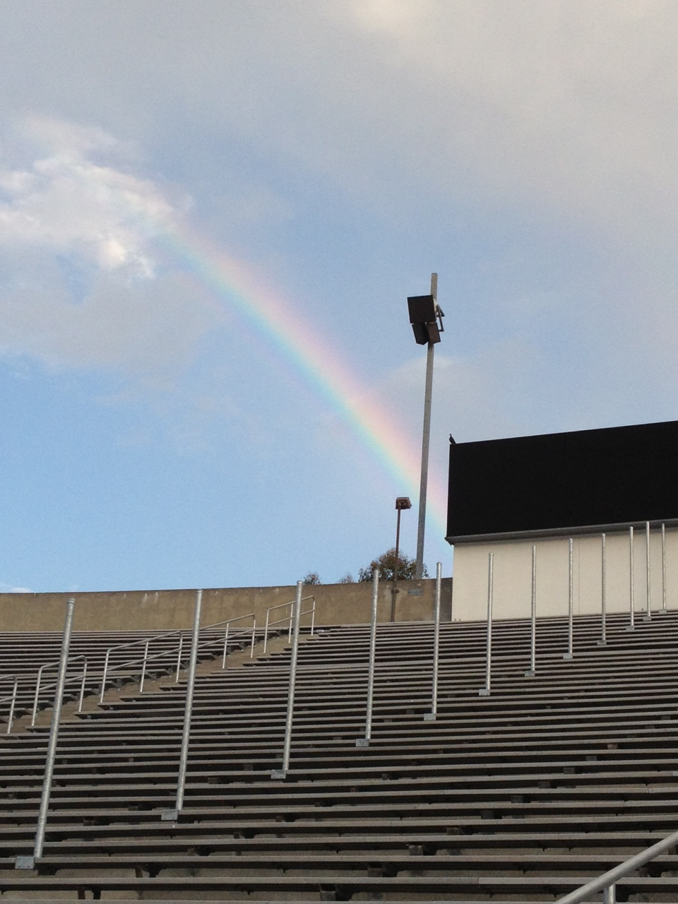 Rainbow over Bowl