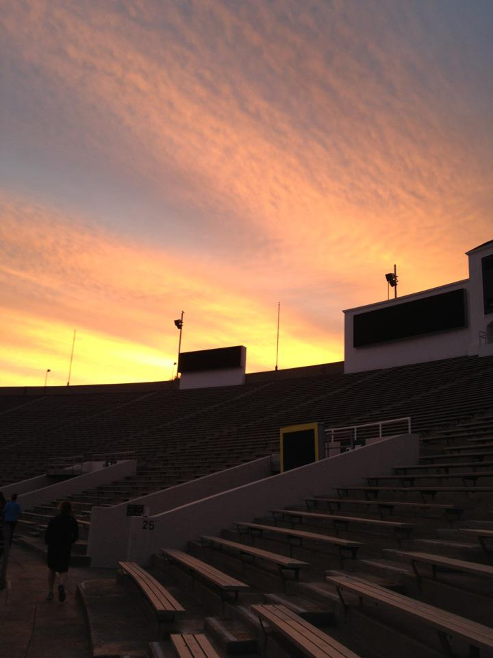 Stadium Sunrise