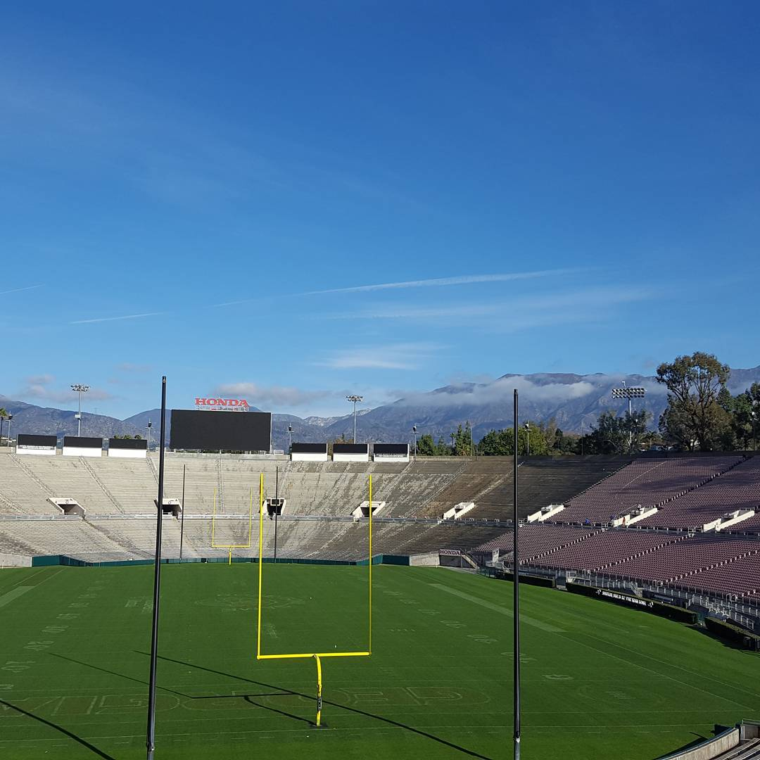 Rose bowl view