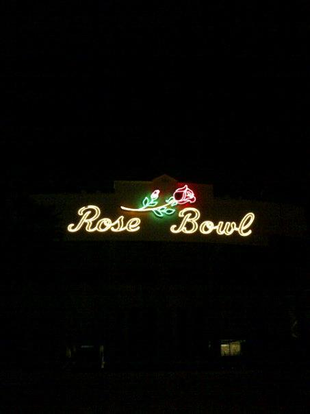 Rose Bowl night