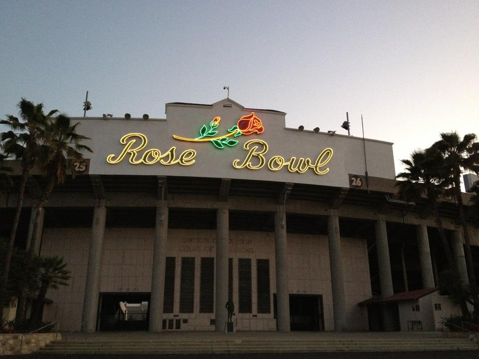 Rose Bowl morning