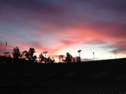 Beautiful morning skies