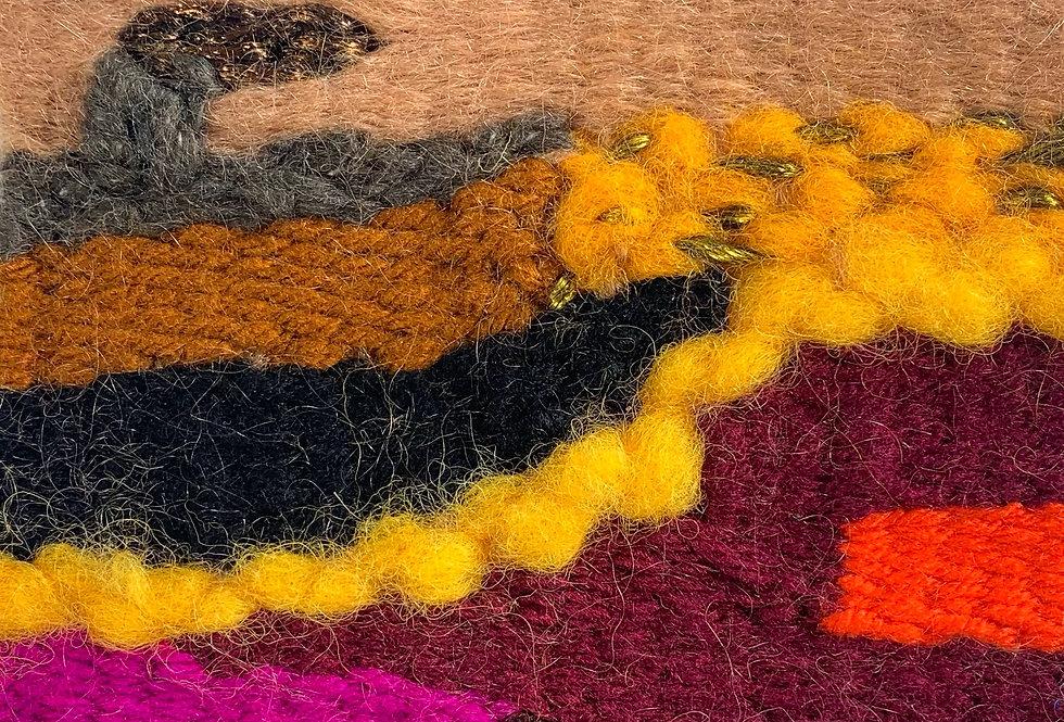 Desert Sediment Weaving