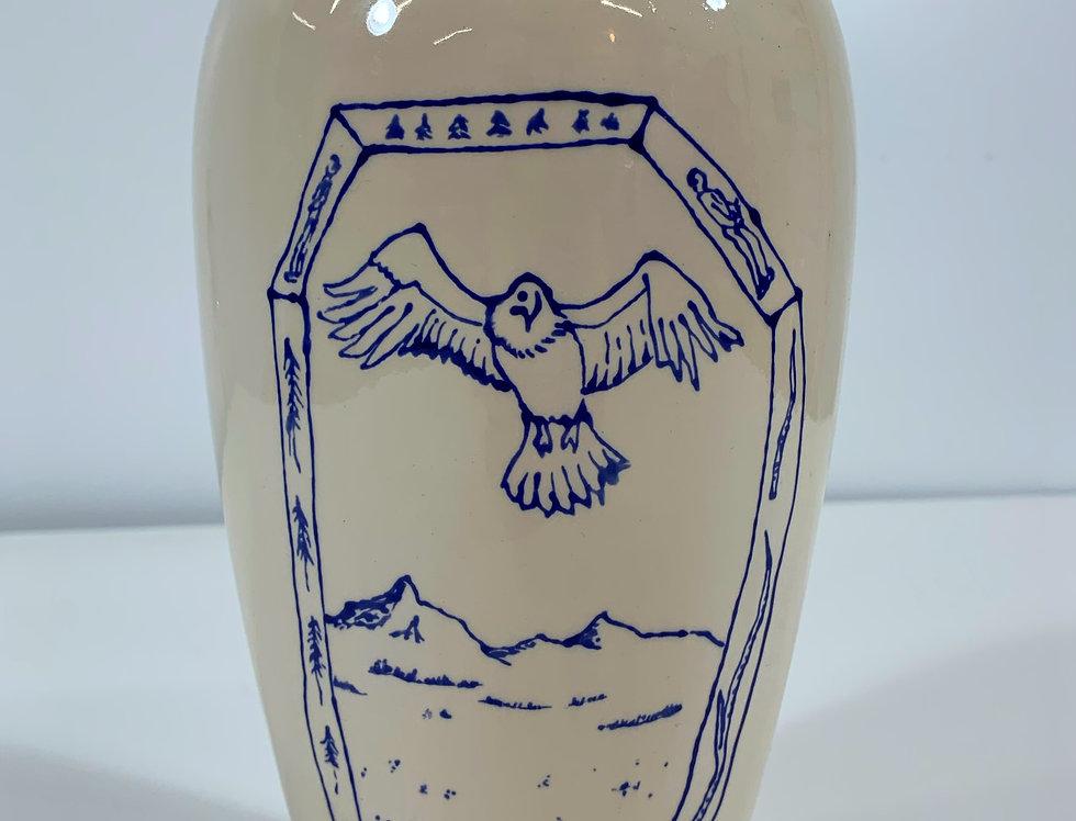 Eagle God Vase